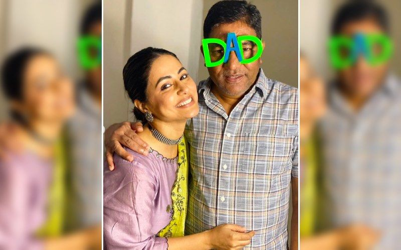 Hina Khan Misses Her Late Father On His Third Month Death Anniversary; Says 'Not That Strong To Bear Your Loss Dad'- See Pics