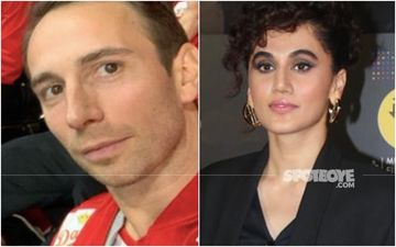 Taapsee Pannu's Beau Mathias Boe Talks About Traffic Rules In India As He Drives For The First Time; It's Hilarious