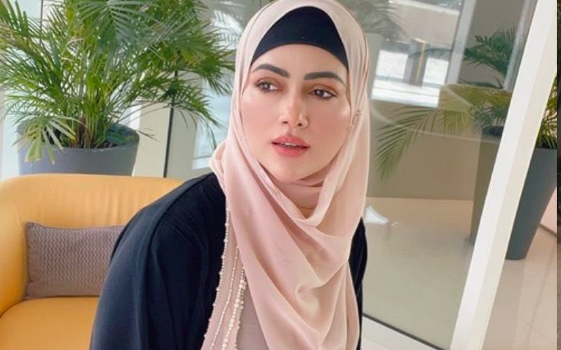 Sana Khan Gives A Subtle But Hard-Hitting Reply To A User Who Mocked Her For Wearing A Hijab