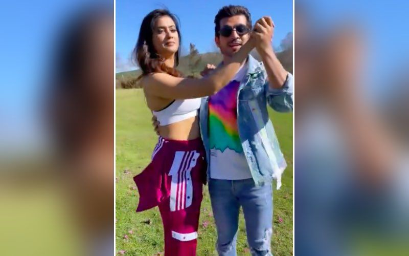 Khatron Ke Khiladi 11: Arjun Bijlani And Shweta Tiwari Break Into An Impromptu Dance As He Teaches Latter His 'Versions Of Crazy' — Video