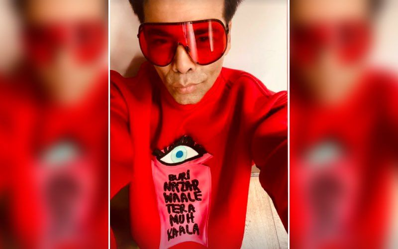 Karan Johar Shares His Random 'Khayaal' On Marriage; Quips 'If Marriage Is An Institution Can It Also Be Online?'
