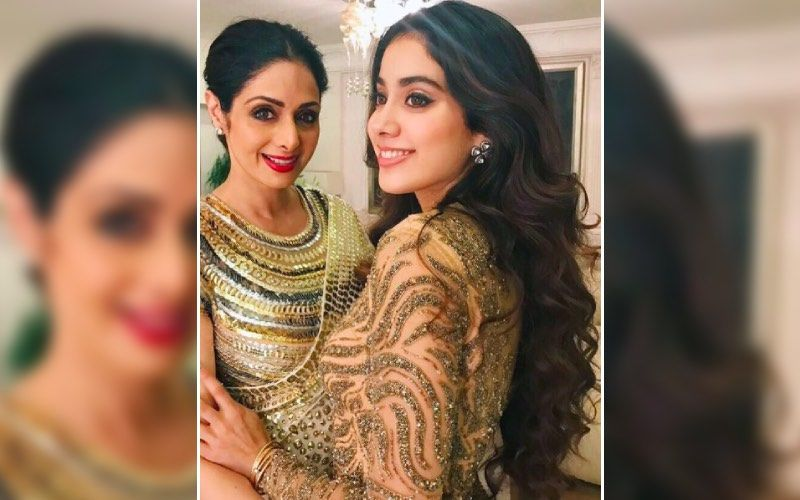 Janhvi Kapoor Glistens In A Stunning Gold Ensemble For Nadiyon Paar Song; It Reminds Us Of Sridevi's Hawa Hawai Look From Mr India