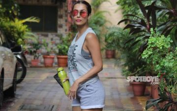 Malaika Arora Makes A Gravity-Defying Yoga Pose Look Like A Cakewalk; It's Jaw-Dropping – VIDEO