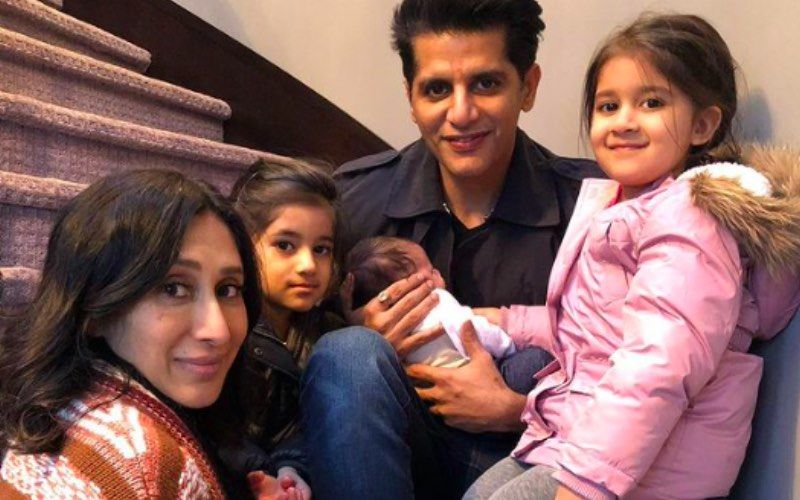 Karanvir Bohra-Teejay Sidhu Are Yet To Finalise A Name For Their Baby Girl But Their Twins Bella And Vienna Already Have A Name