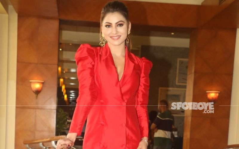 Urvashi Rautela Dons A Spectacular 20 Pounds Dress As She Becomes The Cover Girl For A Fashion Magazine; 'Anything For Fashion Baby'