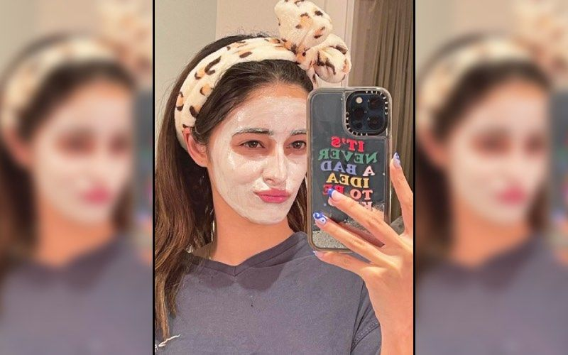 Ananya Panday Pampers Herself As She Takes A Selfie With Face Pack On But Her Big Diamond Rock Is Stealing Our Attention — See Pic