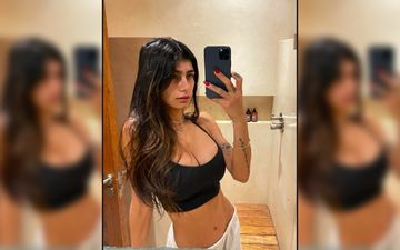 Former Porn Star Mia Khalifa Shares A Drool-Worthy Picture Flaunting Her Puffy Hair And Glowing Skin