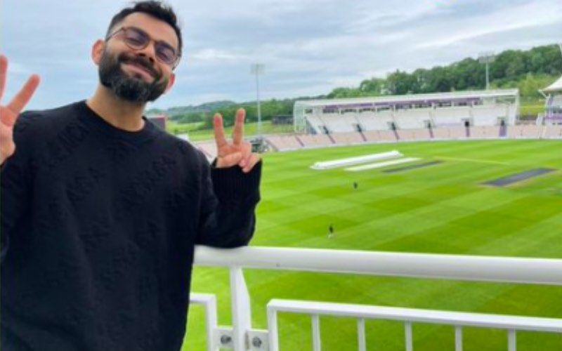 World Test Championship: Virat Kohli Seems Thrilled To Be Back On The Cricket Field Ahead Of The Match With New Zealand — See Pic