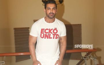 Attack: John Abraham Shoots For An Ultimate Car Chasing Sequence On His Sports Bike But Fans Ask 'Where Is Your Helmet?' - VIDEO