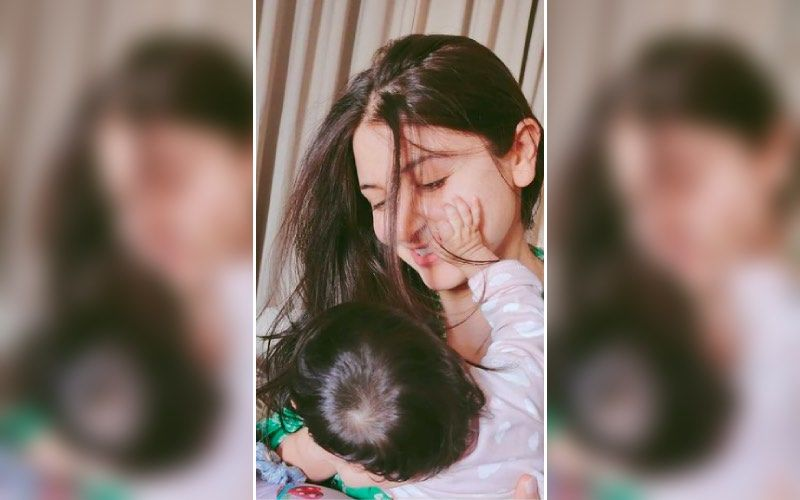 Anushka Sharma Spotted In London As She Goes For A Walk With Daughter Vamika In A Stroller — See Pic