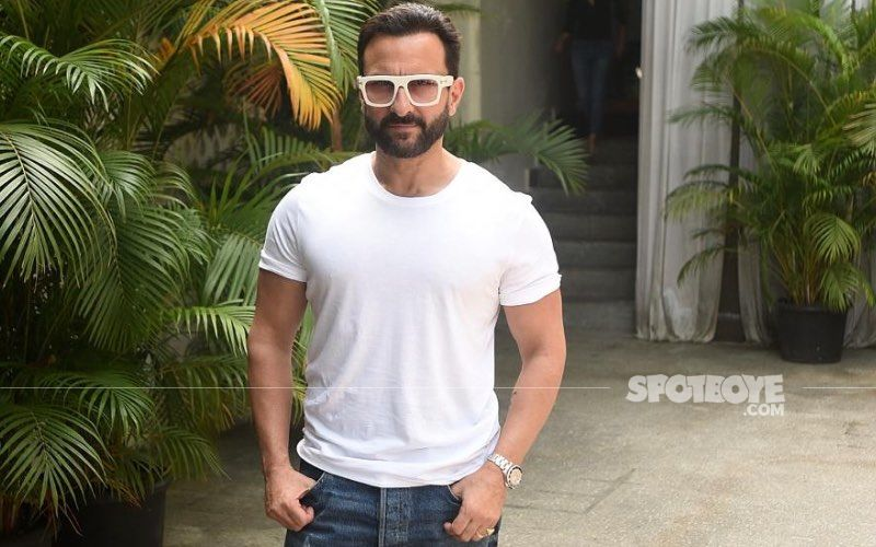 Saif Ali Khan Gets The First Dose Of COVID-19 Vaccine In Mumbai- VIDEO