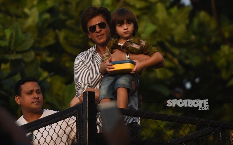 When Shah Rukh Khan And Son Abram Put On Their Masks And Turned Spider-Man; They Truly Seemed 'Unbeatable' – Throwback VIDEO