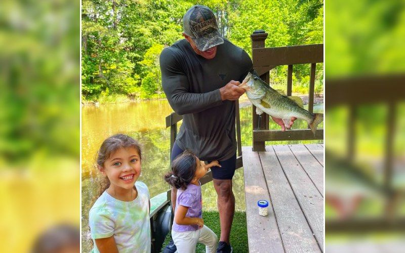 Dwayne Johnson Has A Fun Day Out With His 'Little Ladies' As The Rock Goes Fishing; Says It Was 'Daddy Daughter Bonding' – VIDEO