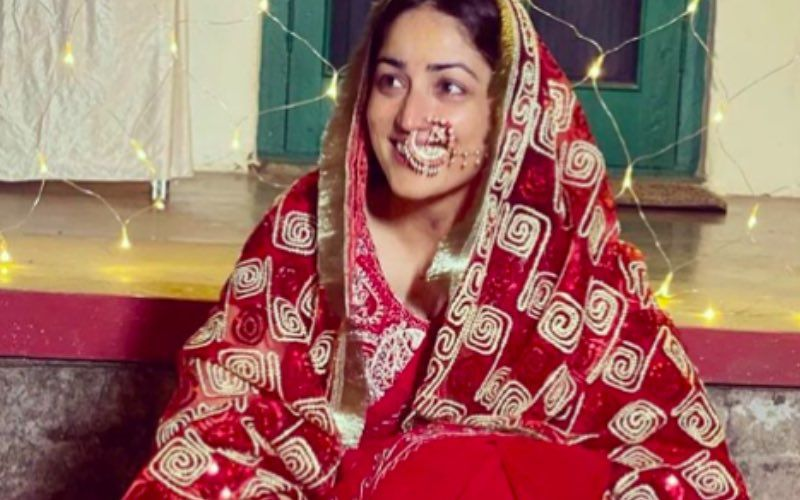 Yami Gautam Shares Beautiful Wedding Photos; Netizens Laud Her For Setting An Example Of 'Real Wedding' 'In The Era Of People Flaunting Sabyasachi'
