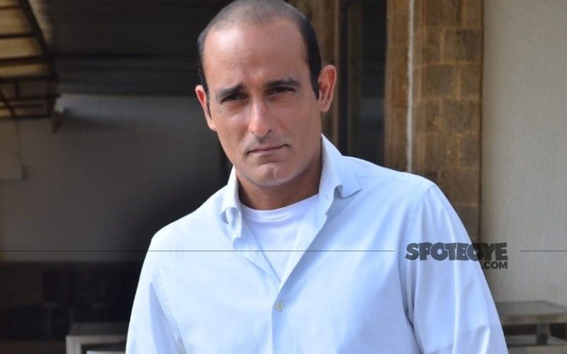 Akshaye Khanna Is Back And He Looks Different As He Poses With Abhilash Chaudhary For Stage Of Siege- Temple Attack