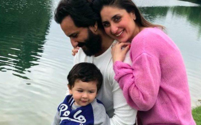 Merry Christmas 2020: Kareena Kapoor Khan, Saif Ali Khan And Taimur Ali Khan Pose For A Family Click But Tim Has His Eyes On Turkey - PIC INSIDE