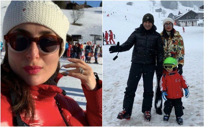 Kareena Kapoor Khan Misses 'Her Love' Gstaad This Year; Shares Lovely Unseen Pics With Taimur Ali Khan And Saif Ali Khan