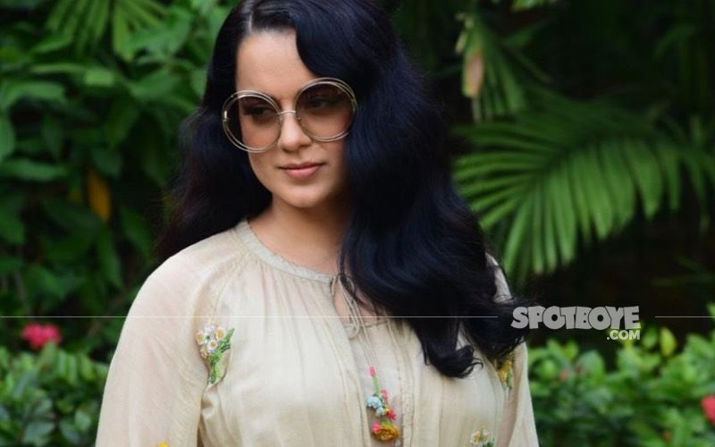 Kangana Ranaut To Make Her Digital Debut As A Producer; Launches The Logo Of Her Production House Manikarnika Films