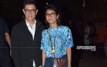 Aamir Khan, Kiran Rao Spotted At Mumbai Airport Ahead Of Wedding Anniversary; Nephew Imran Khan And Daughter Get Clicked Too
