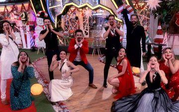 Bigg Boss 14 Weekend Ka Vaar Dec 26 SPOILER ALERT: Rubina Dilaik Gets Friends-Turned-Foes Rahul Mahajan And Rakhi Sawant To Dance; Calls Them Sapera And Naagin - WATCH