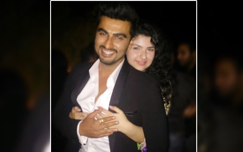 Arjun Kapoor Shares An Emotional Birthday Wish For Sister Anshula Kapoor; Shares A Goofy Childhood Picture Posing The Birthday Girl
