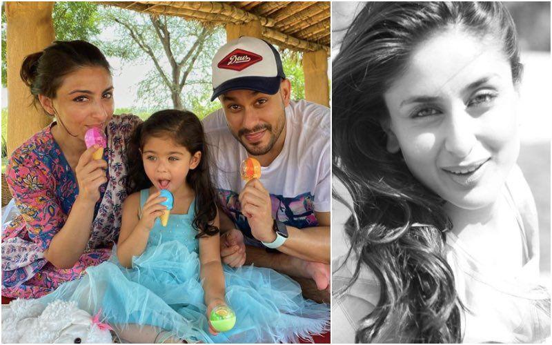 Kareena Kapoor Khan And Soha Ali Khan Share UNSEEN Photos Of Inaaya Kemmu As They Wish The Little Lady