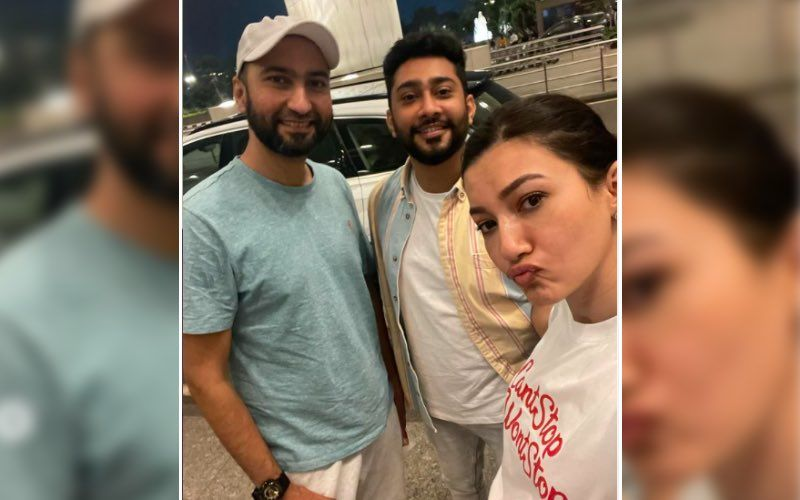 Gauahar Khan And Husband Zaid Darbar Meet Her 'Bestest' Asaad Bhai; Says 'Our Bond Is Crazy But Unbelievably Strong' - PIC