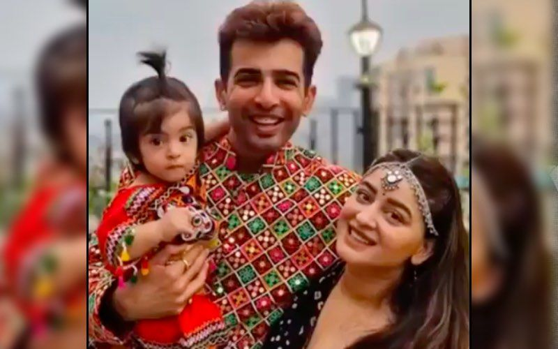 Jay Bhanushali And Mahhi Vij Dress Their Daughter Tara In Traditional Attire For Kanjak Puja; Rashami Desai Can't Stop Gushing Over The L'il One – VIDEO