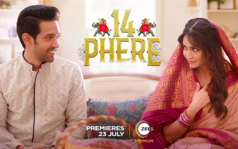 14 Phere First Look Poster: Kriti Kharbanda And Vikrant Massey Pack In Double The Fun And Chaos; Save The Date