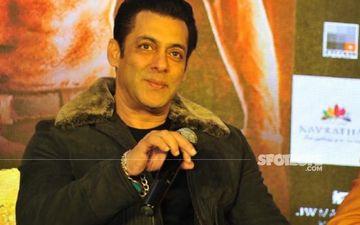 Salman Khan Flaunts His Chiseled And Toned Body; Fans Exclaim, 'Mashallah'