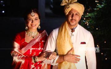 Dia Mirza-Vaibhav Rekhi Wedding: Here's An INSIDE Video From Their Varmala Ceremony – TAKE A LOOK