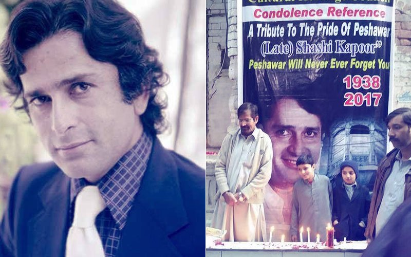 Fans In Pakistan Pay Tribute To Shashi Kapoor Outside His Ancestral House