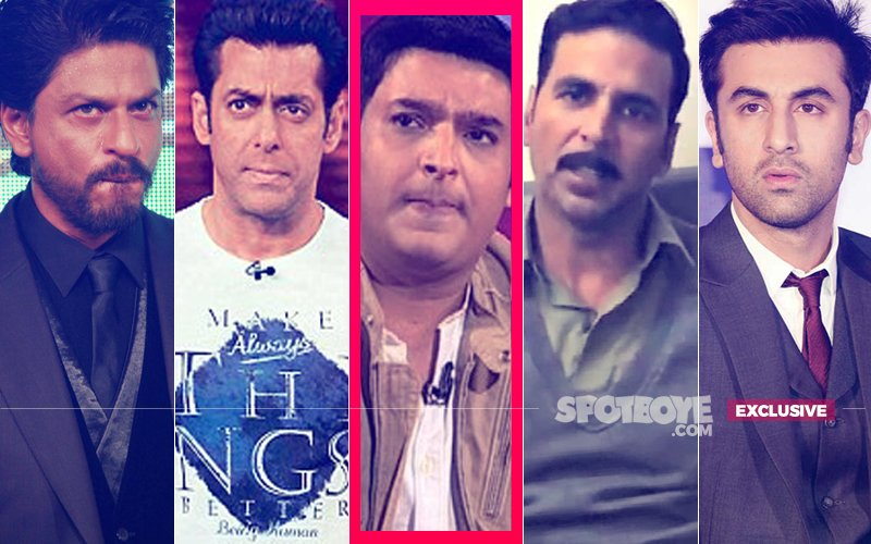 Why Have The A-Listers – Shah Rukh Khan, Salman Khan, Akshay Kumar, Ranbir Kapoor – Vanished From The Kapil Sharma Show?