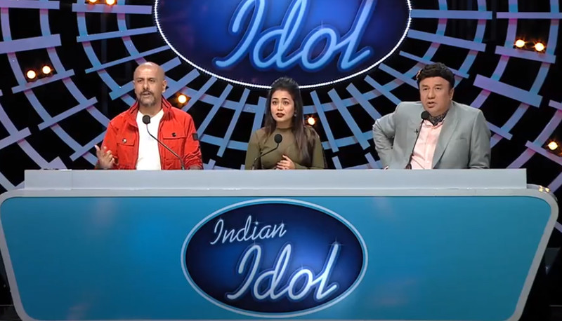 a still from indian idol season 10