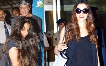 SRK's night out with his daughter, and super hot Deepika's airport fashion