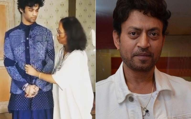Irrfan Khan's Son Babil Dons The Late Actor's Outfit At Filmfare Awards; Says 'At Least I Can Fit Into His Clothes'- VIDEO