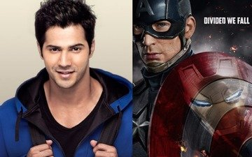Varun Dhawan to be the voice of Captain America