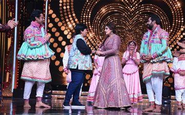 Nach Baliye 9: Raveena Tandon's Dream Come True Moment With Dandiya Queen Falguni Pathak - Watch Video