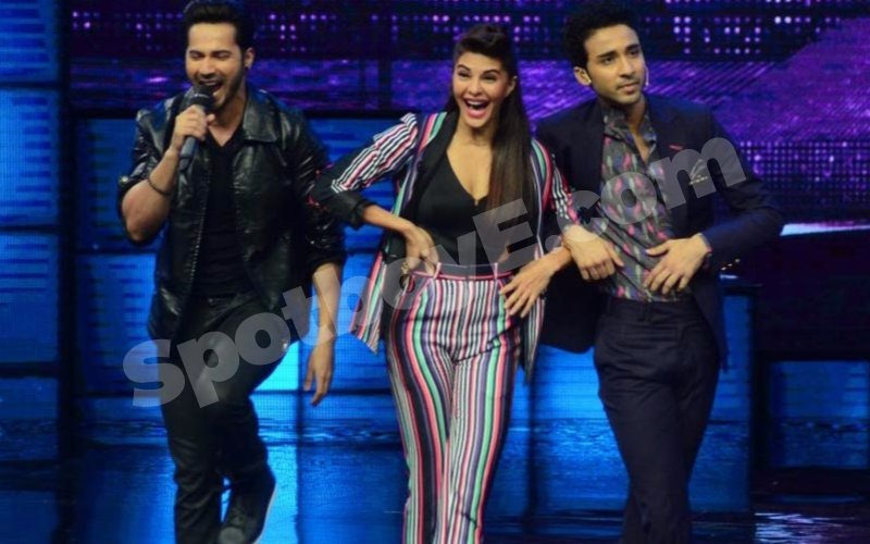 Varun-Jacqueline promote Dishoom on dance reality show
