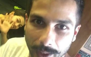 Now, Shahid Kapoor is scared of his wife!