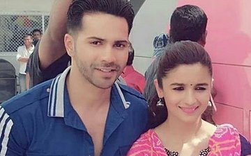 Varun Dhawan and Alia Bhatt's Latest Pictures From The Shoot Of Badrinath Ki Dulhania