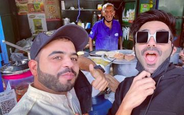 Aparshakti Khurana Visits 'Baba Ka Dhaba' To Have The Best Matar Paneer; Chats Up With The Old Husband-Wife Duo