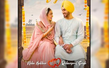 Nehu Da Vyah First Look Poster: Neha Kakkar And Rohanpreet Singh Look Lost In Each Other's Eyes