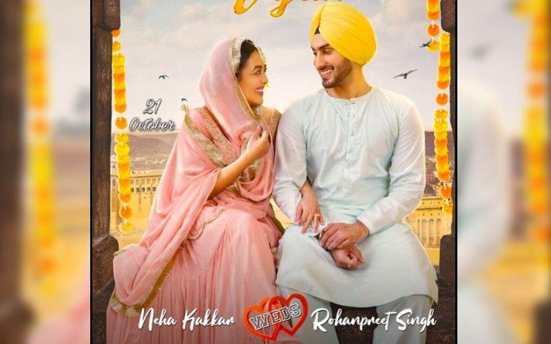 Nehu Da Vyah First Look Poster: Neha Kakkar And Rohanpreet Singh Look Lost In Each Other's Eyes