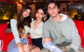 Suhana Khan Shares A Lovely 'Oops' Snap With Her Siblings Aryan Khan And Alia Chhiba From Dubai