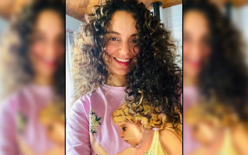 Thalaivi: Kangana Ranaut Shares A Pic Of Mother Making Season's First Makki Ki Roti Back In Manali As She Resumes Filming The Biopic