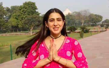 Sara Ali Khan Gets Inspired By Shah Rukh Khan As She Feeds The Pigeons DDLJ Style – VIDEO