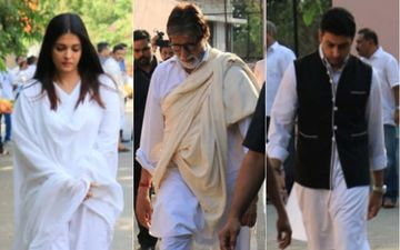 Big B's Long Time Secretary Sheetal Jain's Funeral: Aishwarya, Abhishek And Amitabh Bachchan Pay Their Last Respects