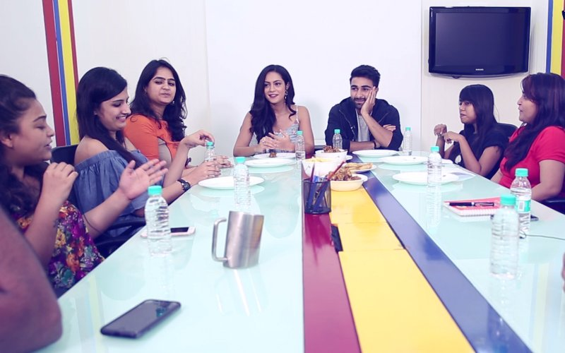 Aadar Jain & Anya Singh In A Candid Chat With SpotboyE Journalists