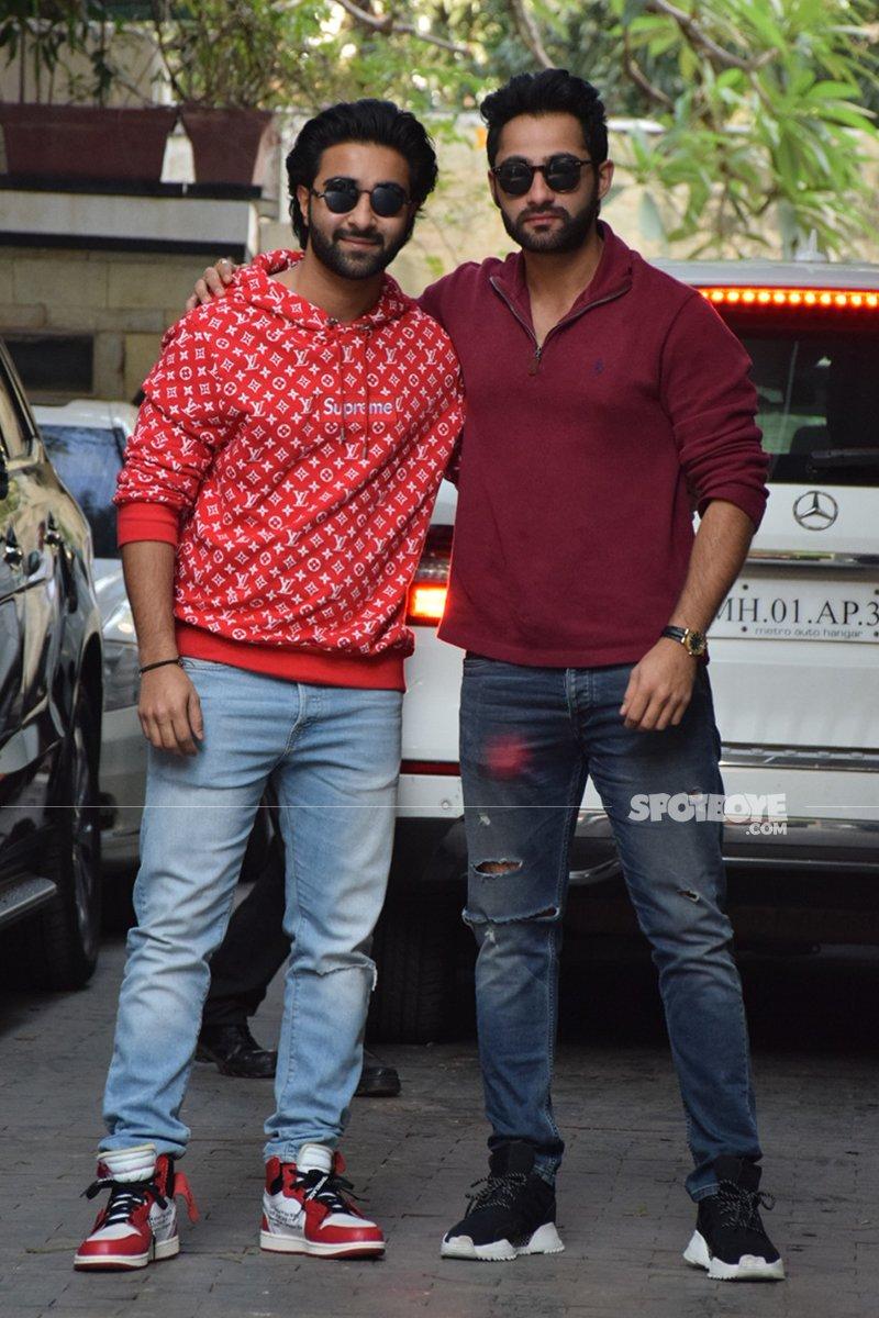 aadar jain with his cousin